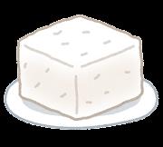 豆腐のイラスト(木綿)