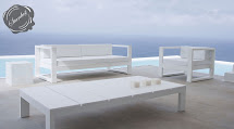 White Modern Outdoor Furniture