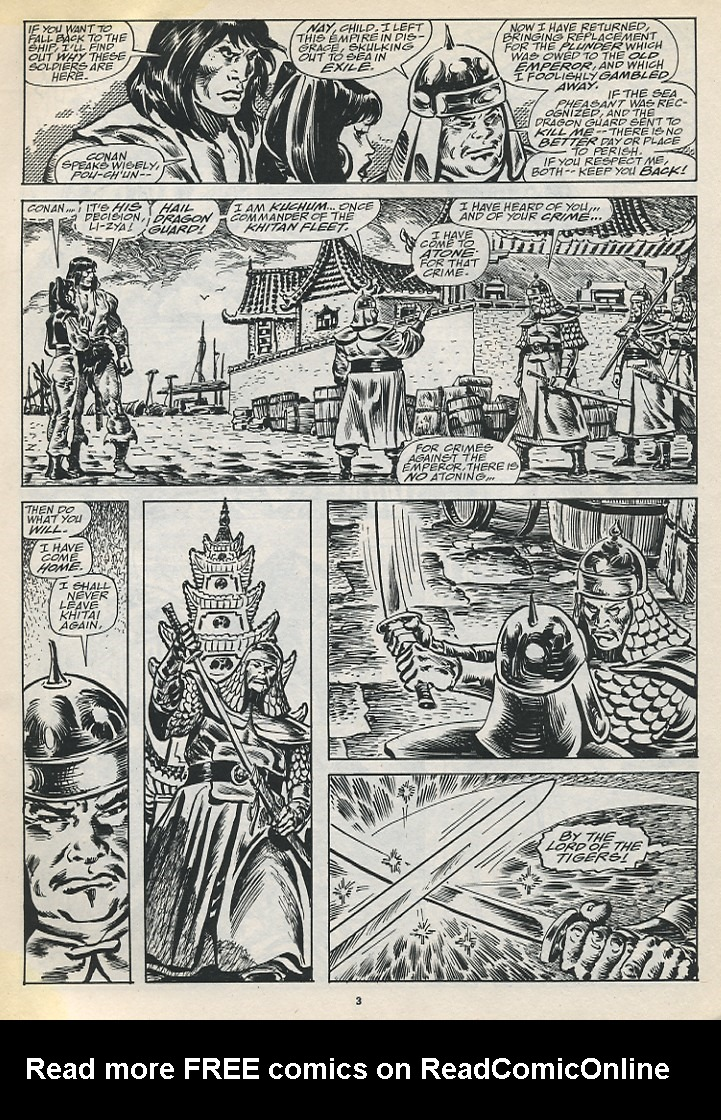 The Savage Sword Of Conan Issue #194 #195 - English 5