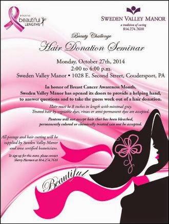 10-27 Hair Donation Seminar