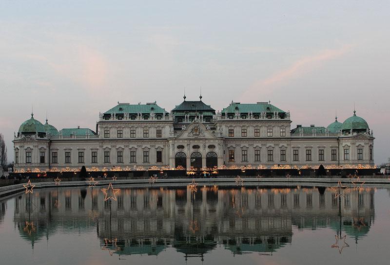 Schloss Belvedere Wien City