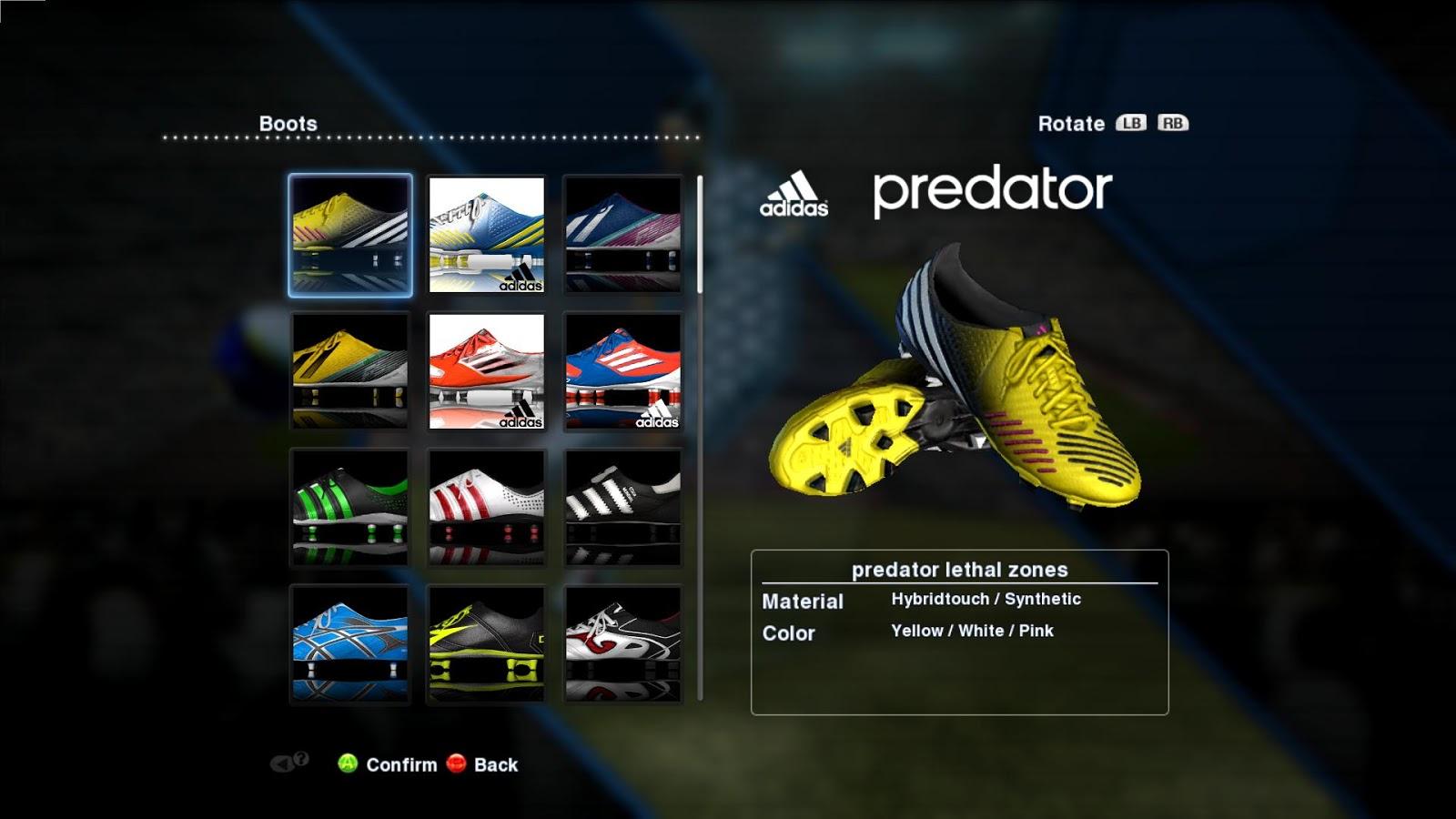 boots pes 2013 adidas