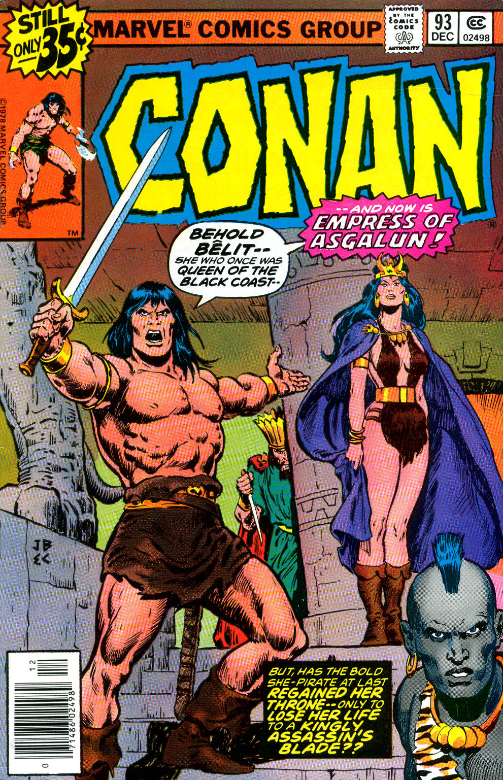 Conan the Barbarian (1970) Issue #93 #105 - English 1