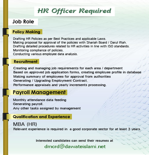 Drafting HR Policies as per Best Practices and applicable Laws.