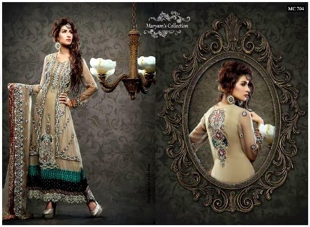 Maryam's Collection Heavy Embroidered Dresses