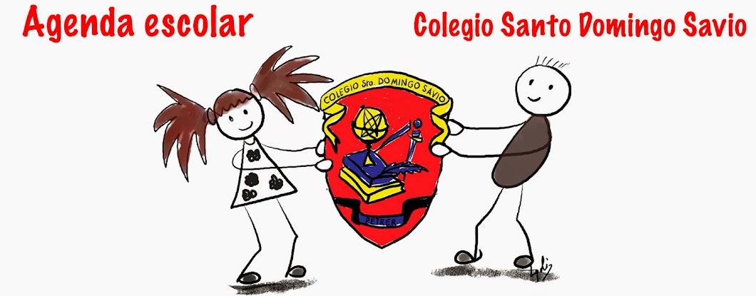 Agenda escolar 2014 - 2015. Colegio Santo Domingo Savio