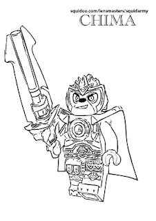 lego chima coloring pages Lennox