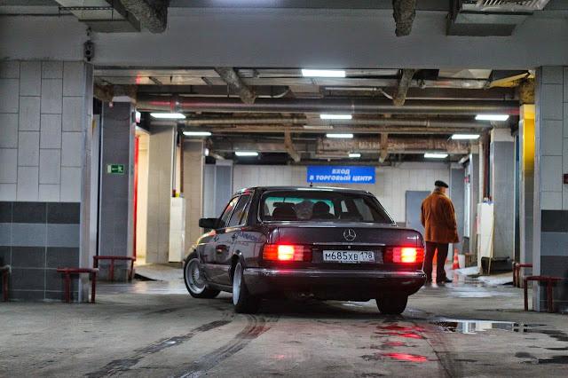 w126 garage