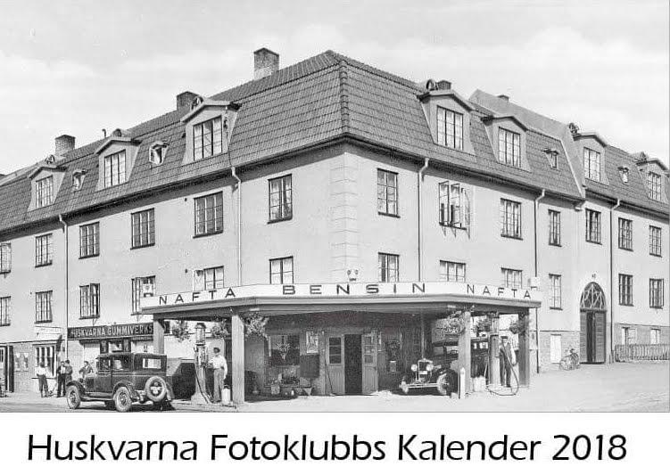 Huskvarna Fotoklubbs Kalender 2018