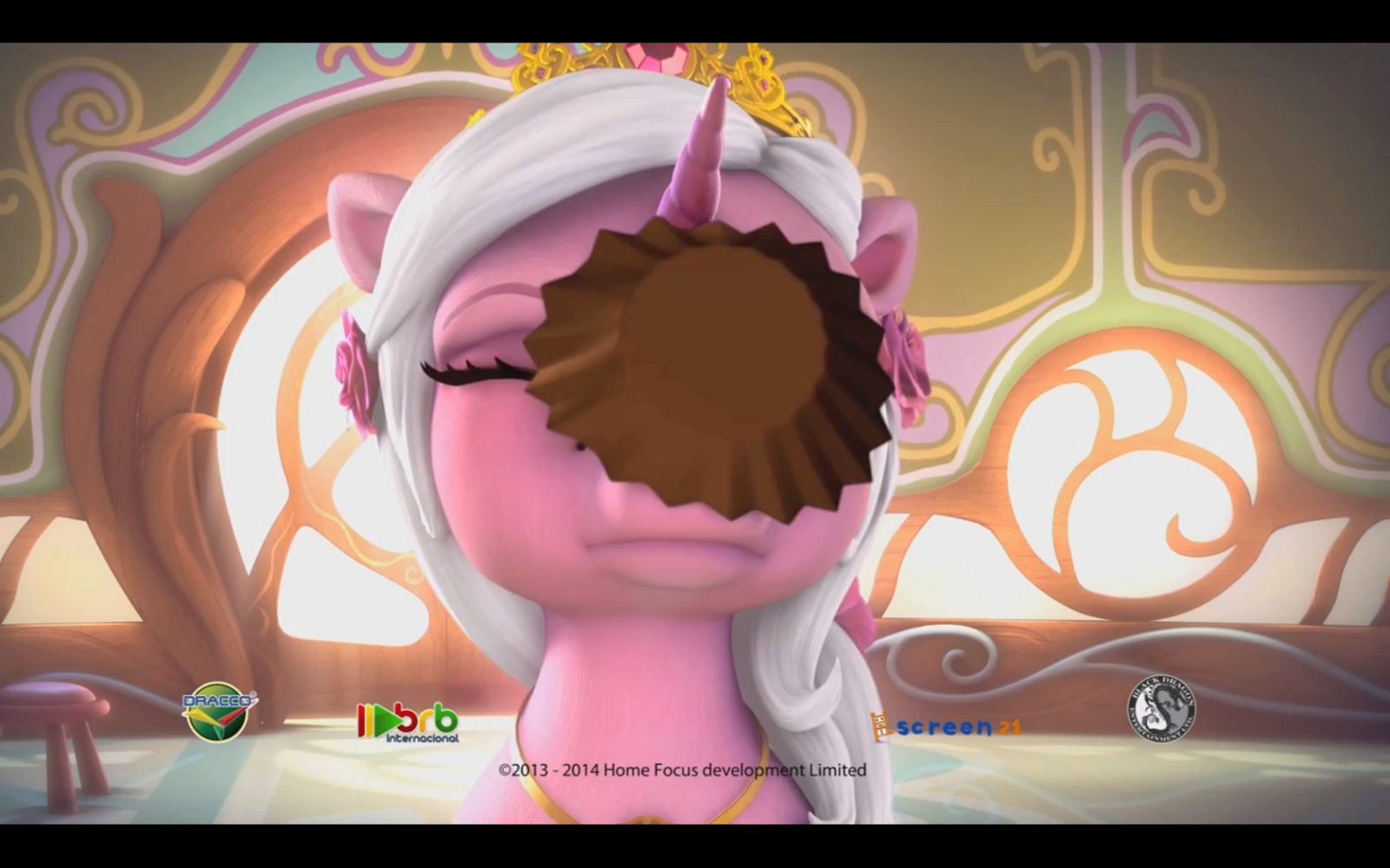 rose gets cupcaked