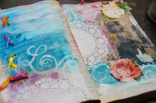 art journal techniques linda peterson