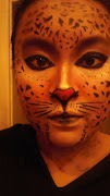 . everyday cat makeup. Here is some more pictures of my makeup, up close: