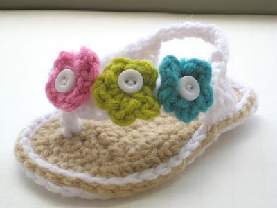 SANDALIAS PARA BEBE A CROCHET PASO A PASO CON VIDEO YOUTUBE