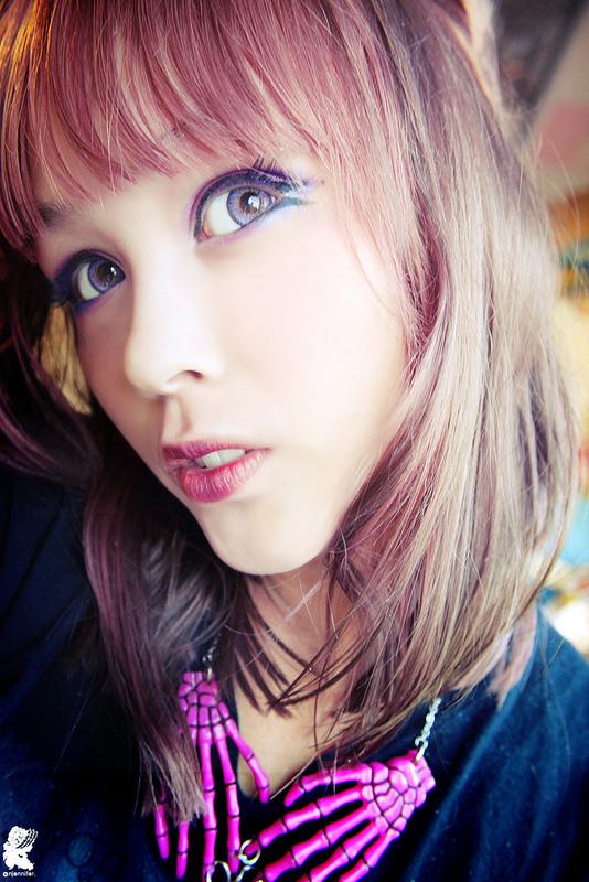 Barbie Puffie 3 Tones Violet