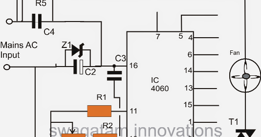 timer  oscillator circuit for exhaust fans