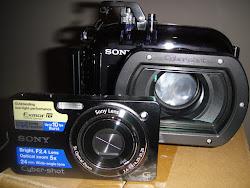 Πωλείται ψηφιακή κάμερα sony DSC- WX1 10 MP μαζί με την υ/β θήκη της