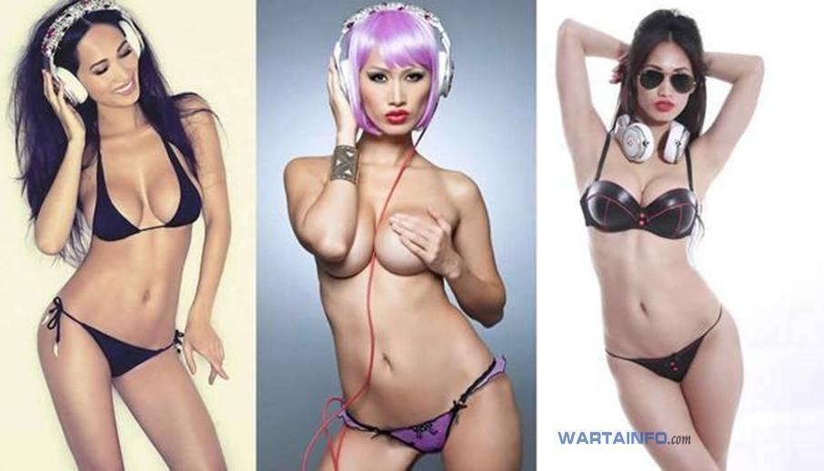 Foto Hot telanjang dada payudara toket montok Angie Vu Ha DJ Wanita Cewek Cantik Vietnam Terseksi di Asia