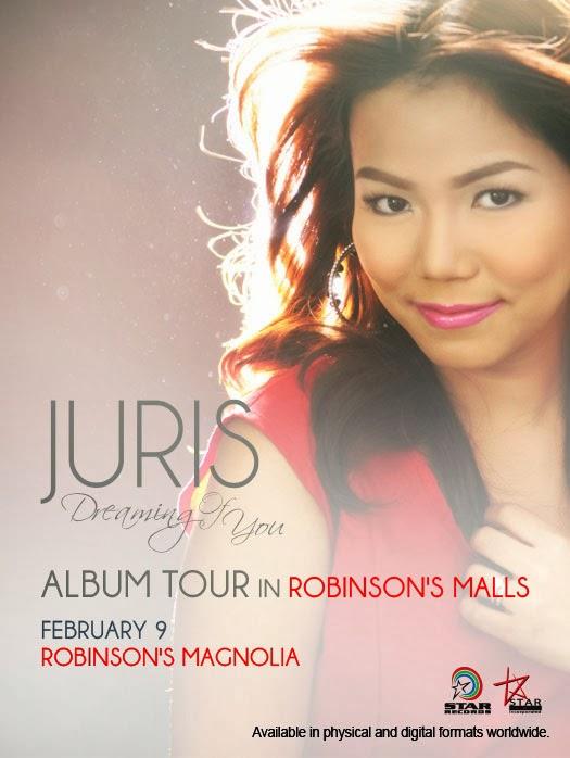 Start records,Album Tou, Concert, Schedule, February, February 2014,Juris, Angeline Quinto,KZ Tandingan,Xian Lim, OPM Artist, OPM, OPM Songs,