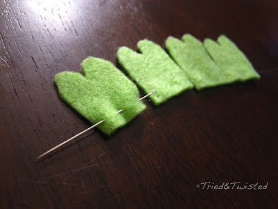 DIY St Patty's Four-Leaf Clover via Tried & Twisted