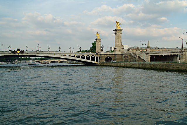 Le pont Alexandre-III  Paris photo