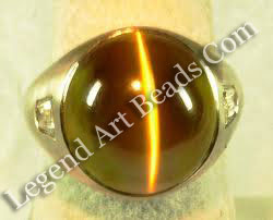 Cat's Eye Gemstone Ring