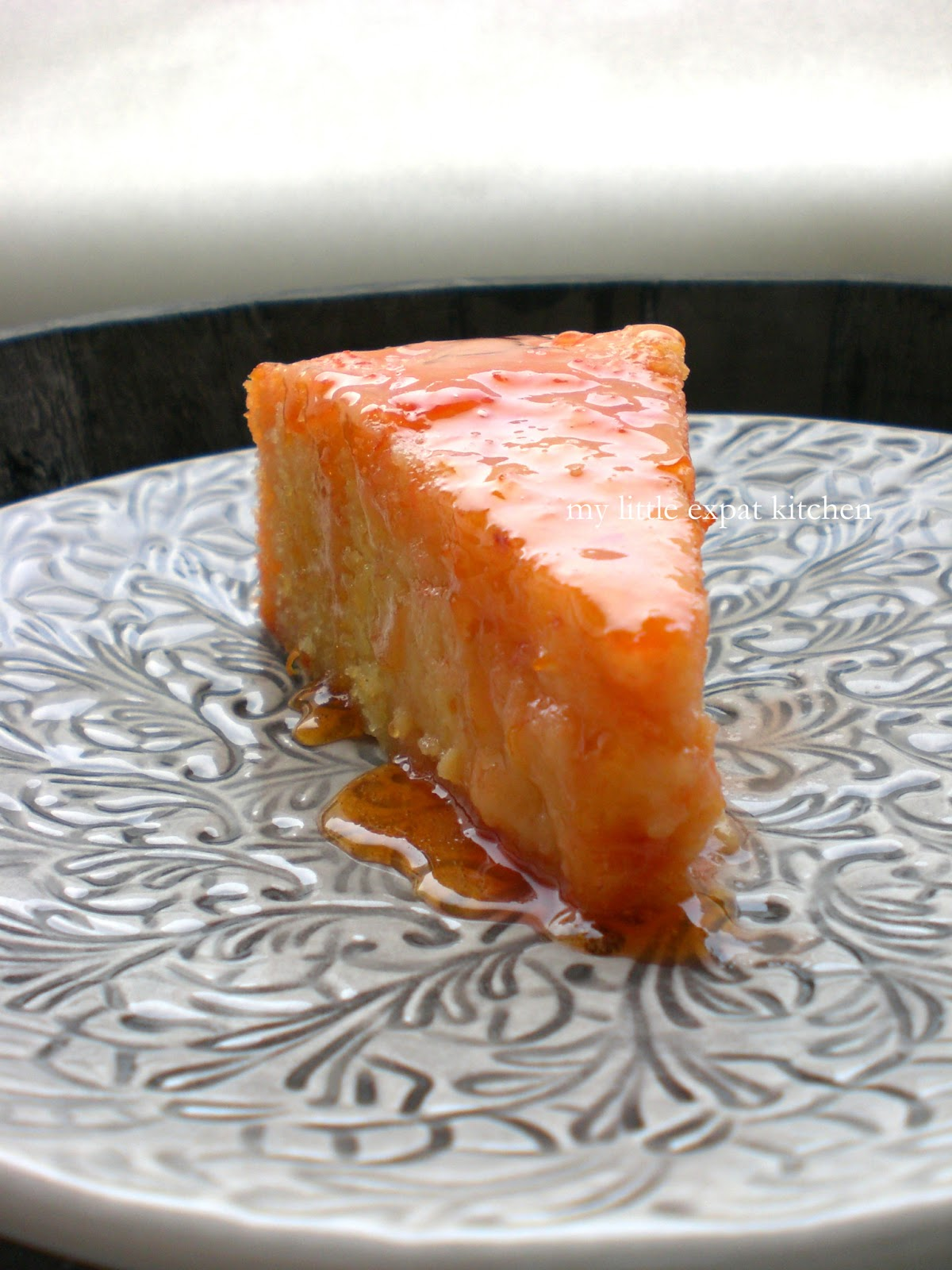Blood orange syrup cake recipe