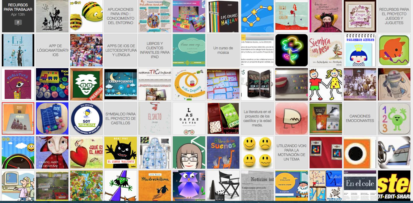 El blog en imágenes