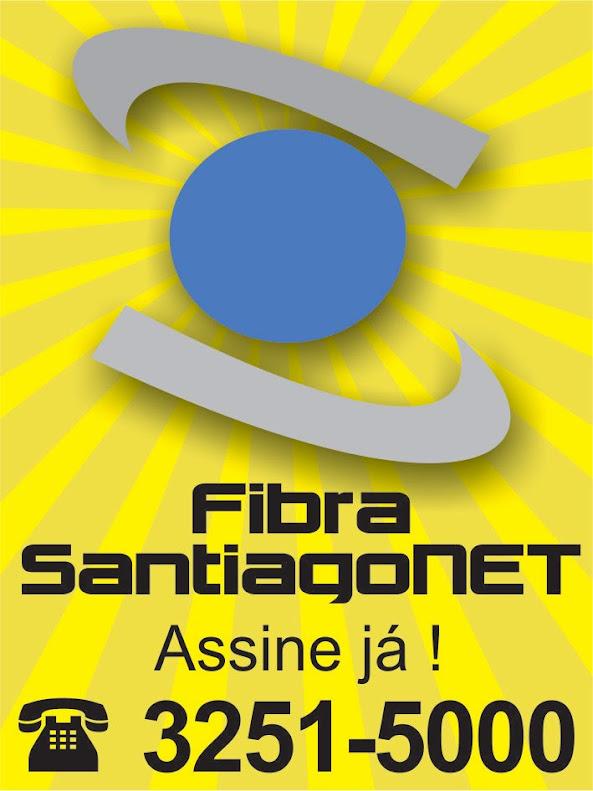SANTIAGONET agora é 100% Fibra Ótica