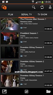 Nonton : Aplikasi Android Nonton Film Online Gratis, Serial tv, musik