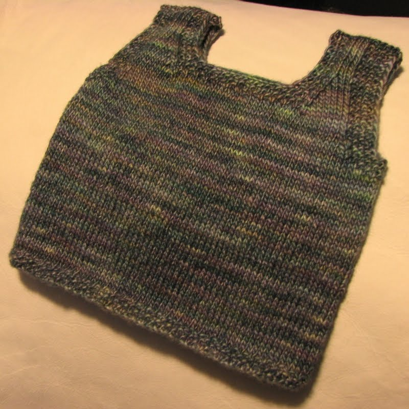 Knitted Baby Vest Pattern : Modern Crafter: Infant Undershirt/Vest Knitting Pattern