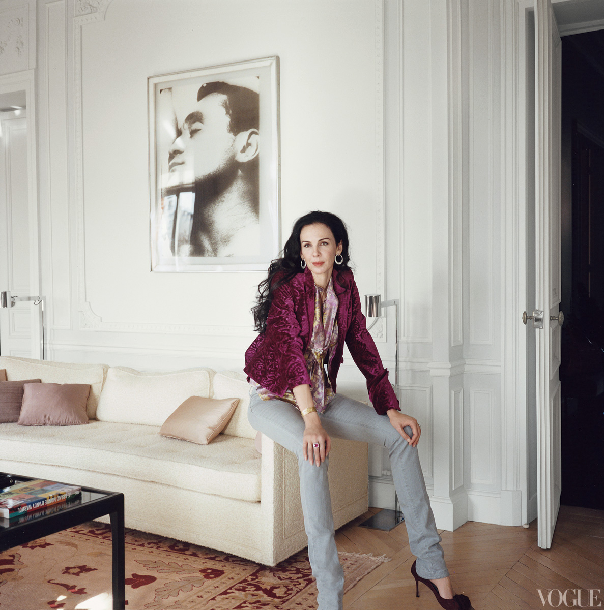 The Designer\'s Muse: A Feathered Nest: Home of L\'Wren Scott and Mick ...