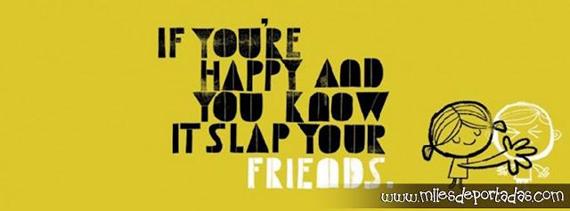 Portada para Facebook con frases, frases de amistad