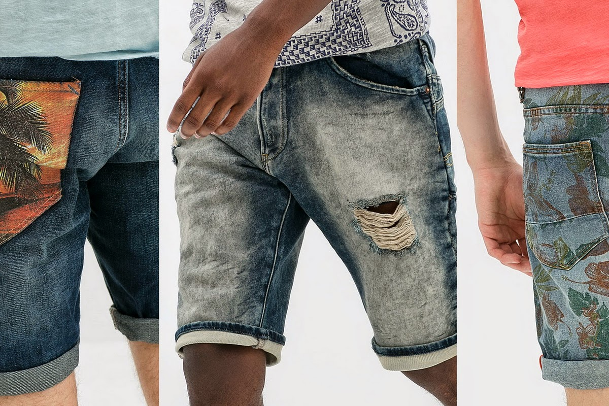 Какие мужские шорты будут модными в 2014 году