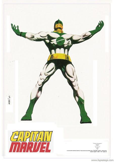 Imagen Capitan Marvel Ediciones Vértice