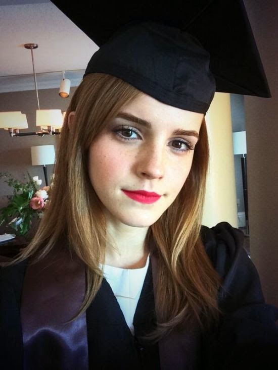Emma Watson Graduated From College And Hogwarts