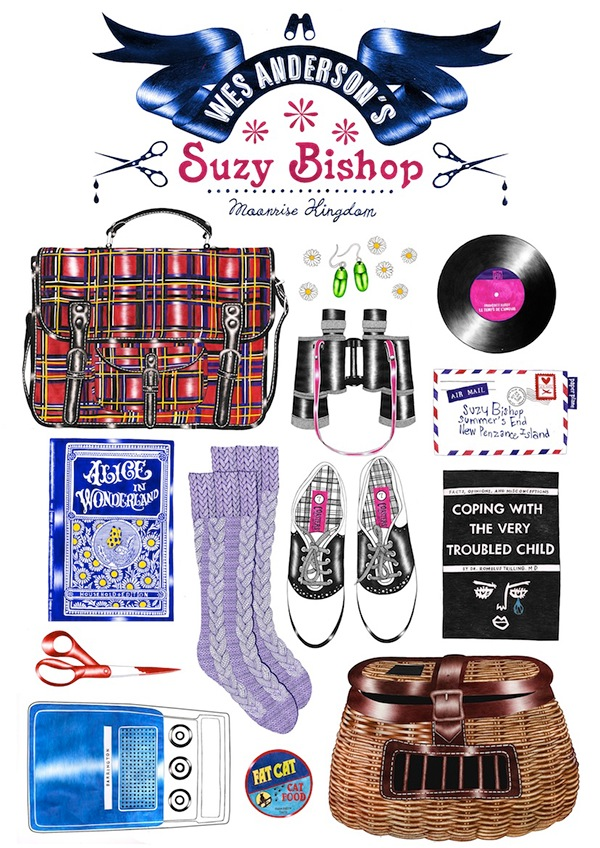10-Suzy-Bishop-s-Things-Organized-Neatly-Helena-Hauss-Drawing-with-a-Ballpoint-Bic-Pen