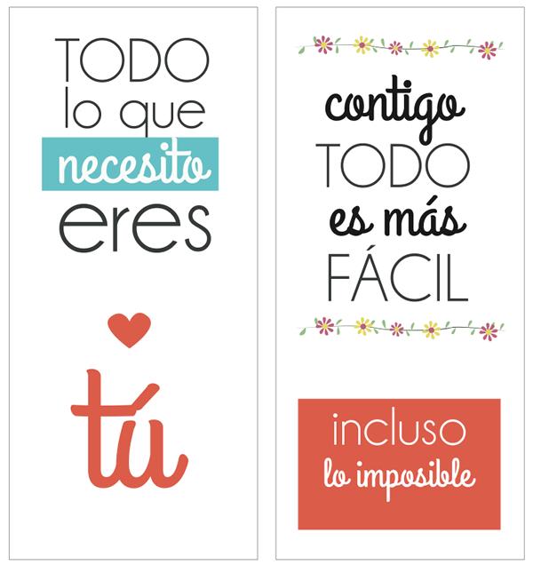 Esimagenes : Imágenes Tarjetas Postales con Frases  - Tarjetas Para Imprimir De Amor