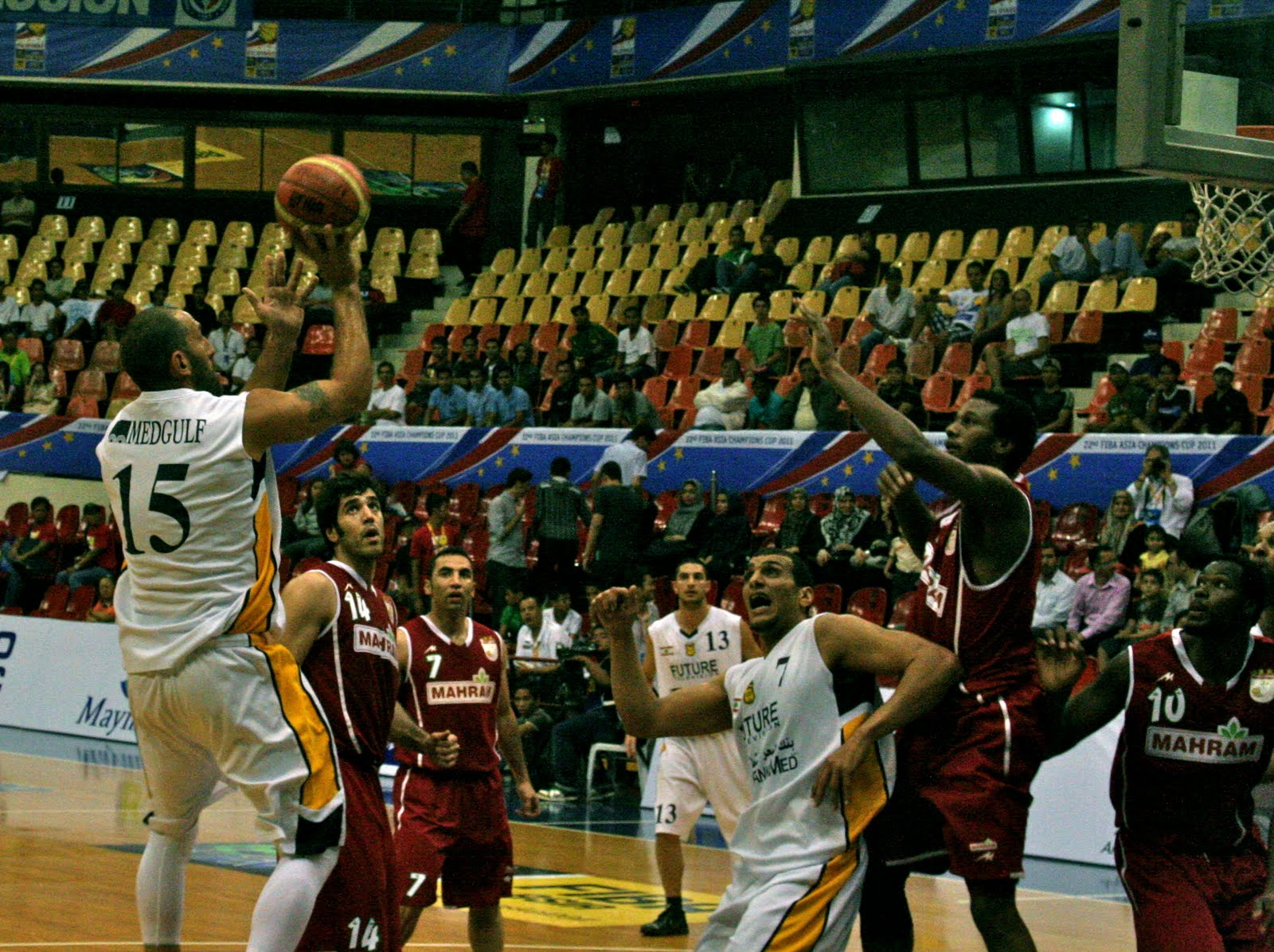 El Khatib Carries Al Riyadi To Over Mahram