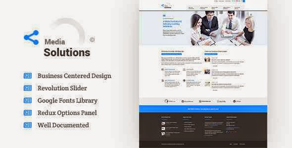 Media Solutions - Business Wordpress Theme