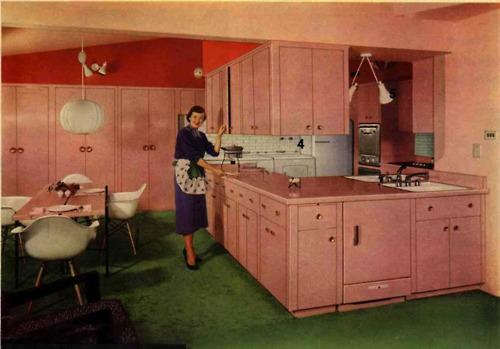 Vintage clothing love vintage kitchen colors for Retro kitchen paint colors