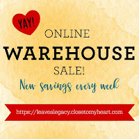 50% Off Warehouse Sale in August