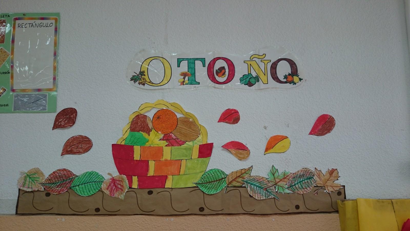 Decoracion Ventanas Oto?o ~ El aula de Trini El Oto?o