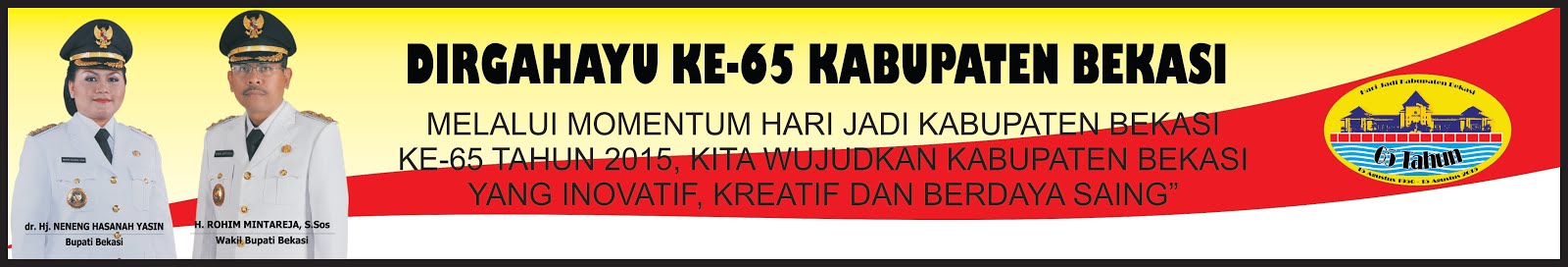 HUT KABUPATEN BEKASI KE-65