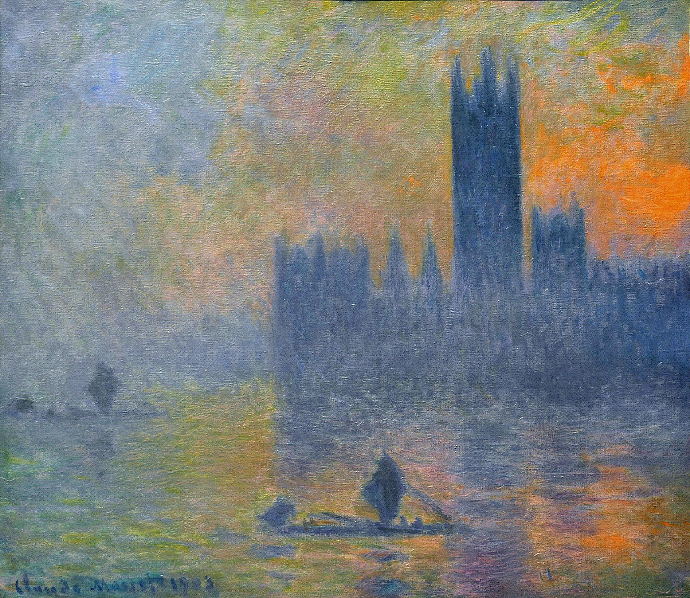 Art artists claude monet part 26 1900 1908 for Monet home