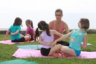 Yoga for kids in Bali, yoga practice in bali, yoga workshop in bali