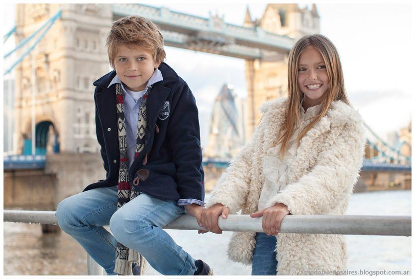 Moda otoño invierno 2015: Mimo & Co otoño invierno 2015 Ropa para niños.