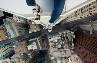Rooftopping in Toronto by Tom Ryaboi