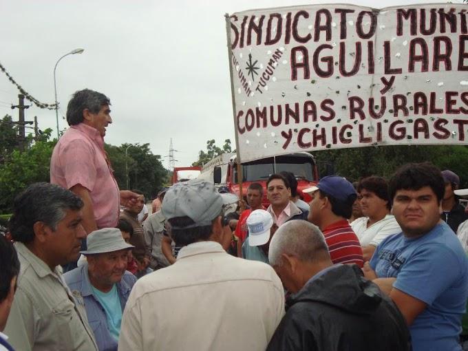 Repudiamos la persecución de los luchadores sociales