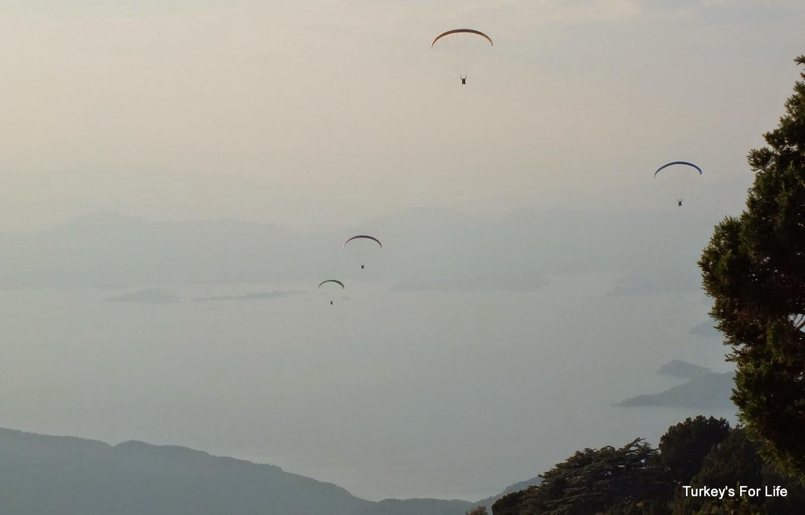 Paragliding From Babadağ Mountain, Ölüdeniz, Turkey