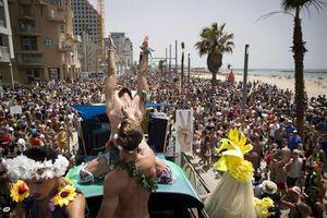 200,000 PARTY IN TEL AVIV ,,,